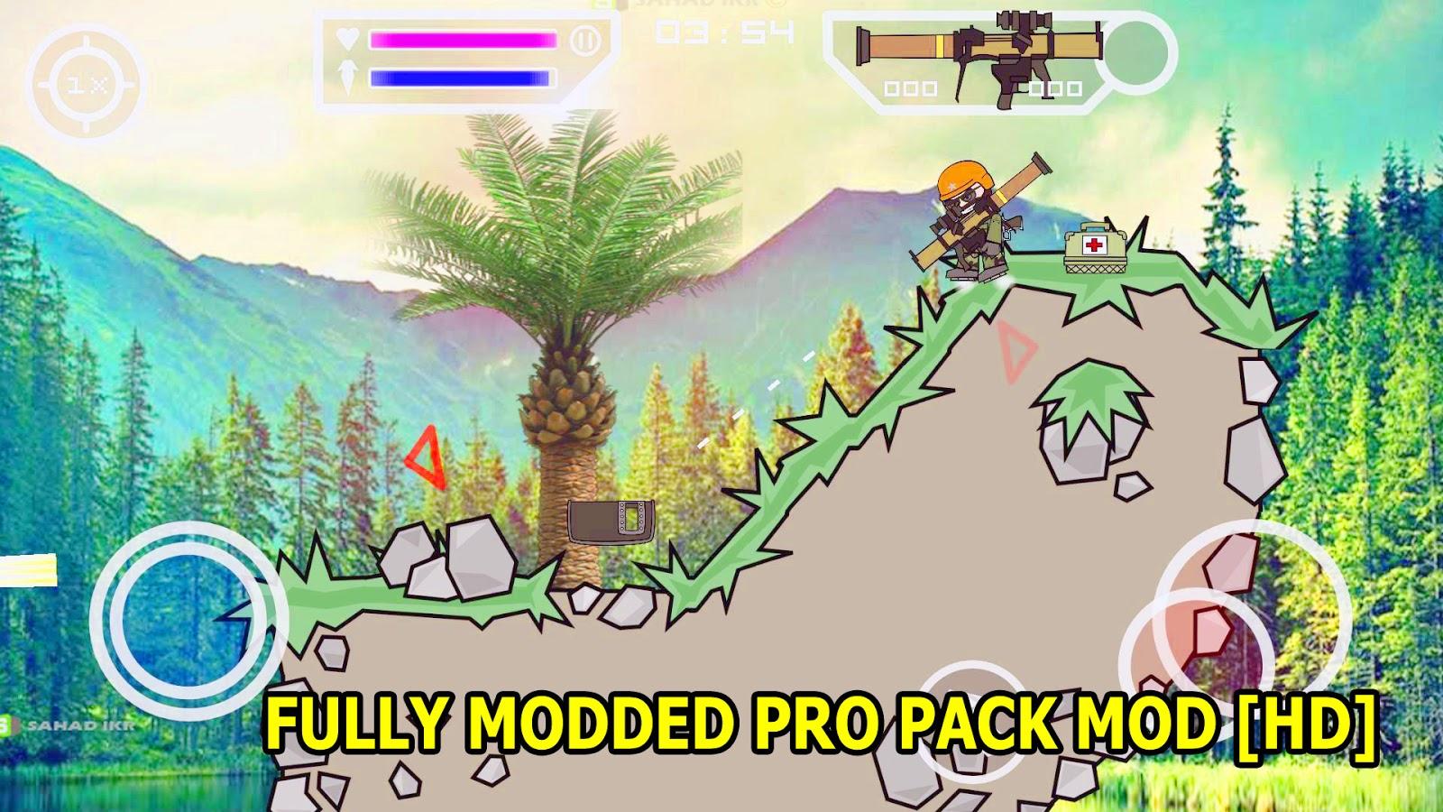 Download Mini militia pro pack files - TraDownload