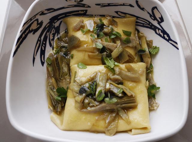 Fazzoletti di pasta fresca all'uovo alla maniera dello Chef Peppe Guida