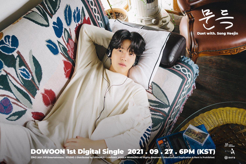 Dowoon (도운) de DAY6 se presenta en solitario con 문득