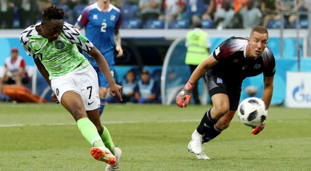 News In Pictures: What fans did to Ahmed Musa in Abuja after #WorldCup exit