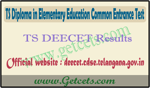 TS DEECET Result 2021-2022 date, dietcet rank card download