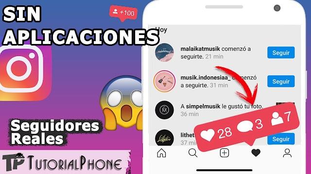 Nuevo método para ganar seguidores en Instagram