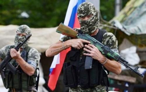 Русские боевики на Донбассе