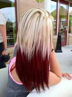 สีผม Ombre