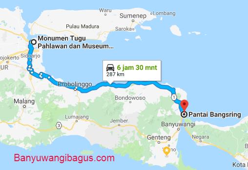 Surabaya-Bangsring via jalur utara