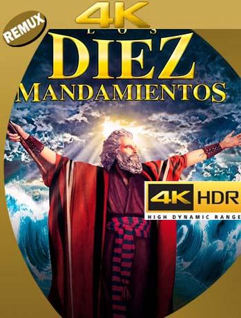 Los Diez Mandamientos (1956) BDREMUX 4K UHD Español Latino [GoogleDrive] [tomyly]