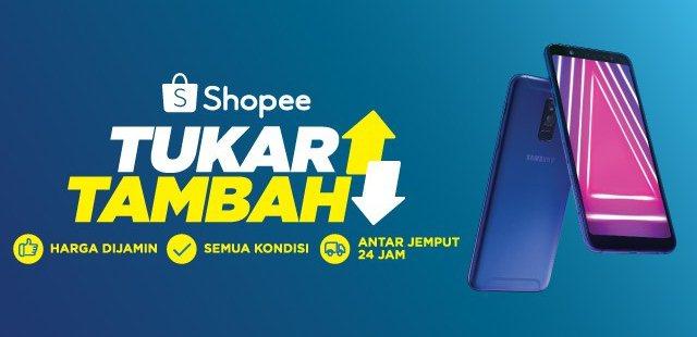 Cara Tukar Tambah HP / Handphone di Shopee