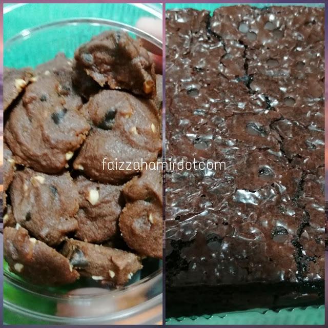 Brownies & Cookies Kakak Sepupu Buat