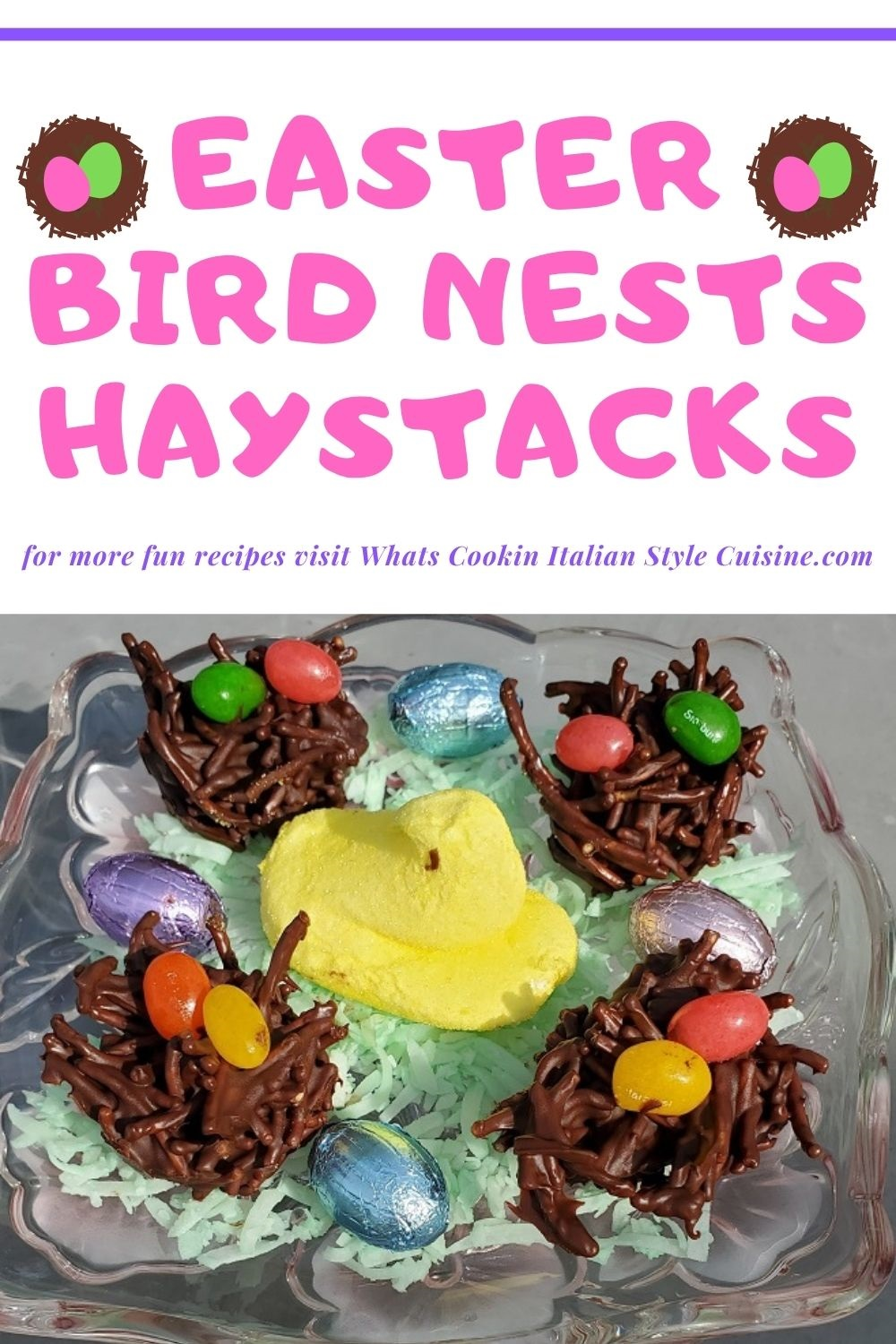 this is a pin for later how to make Easter bird nest