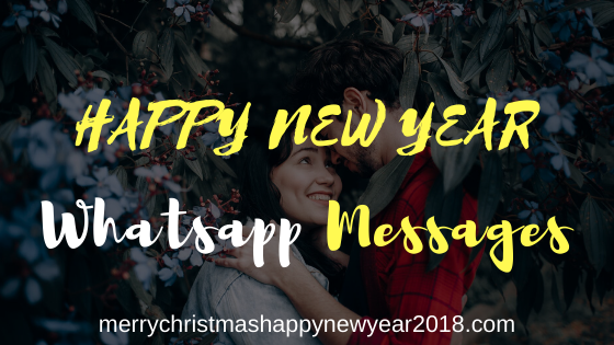 Happy New Year Messages for Whatsapp