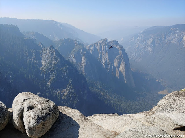 Taft point Trail