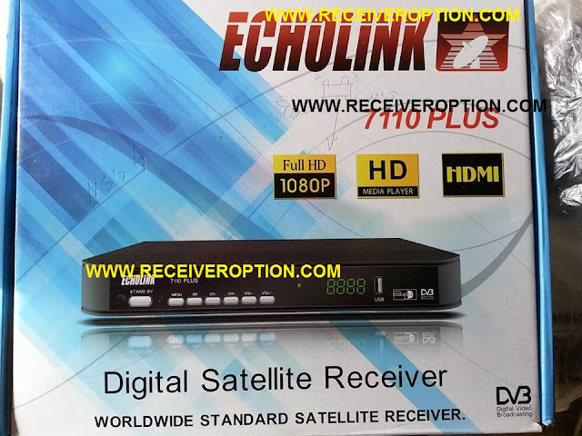 ECHOLINK 7110 PLUS HD RECEIVER FLASH DUMP FILE