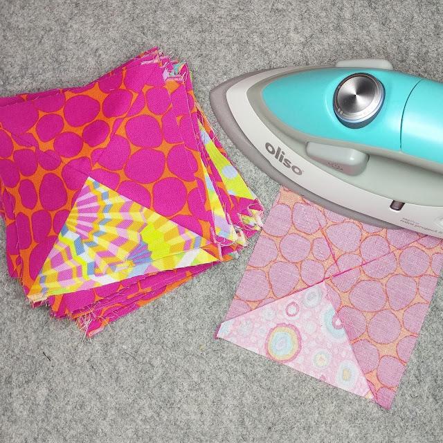 Oliso mini iron and wool pressing mat