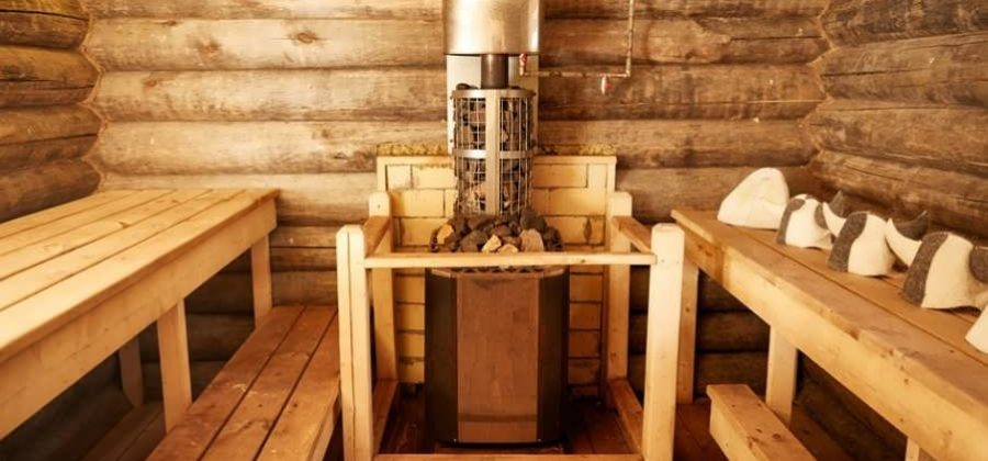 Manufacturing of stoves for baths