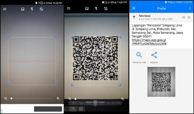 Cara Scan Barcode di HP 5