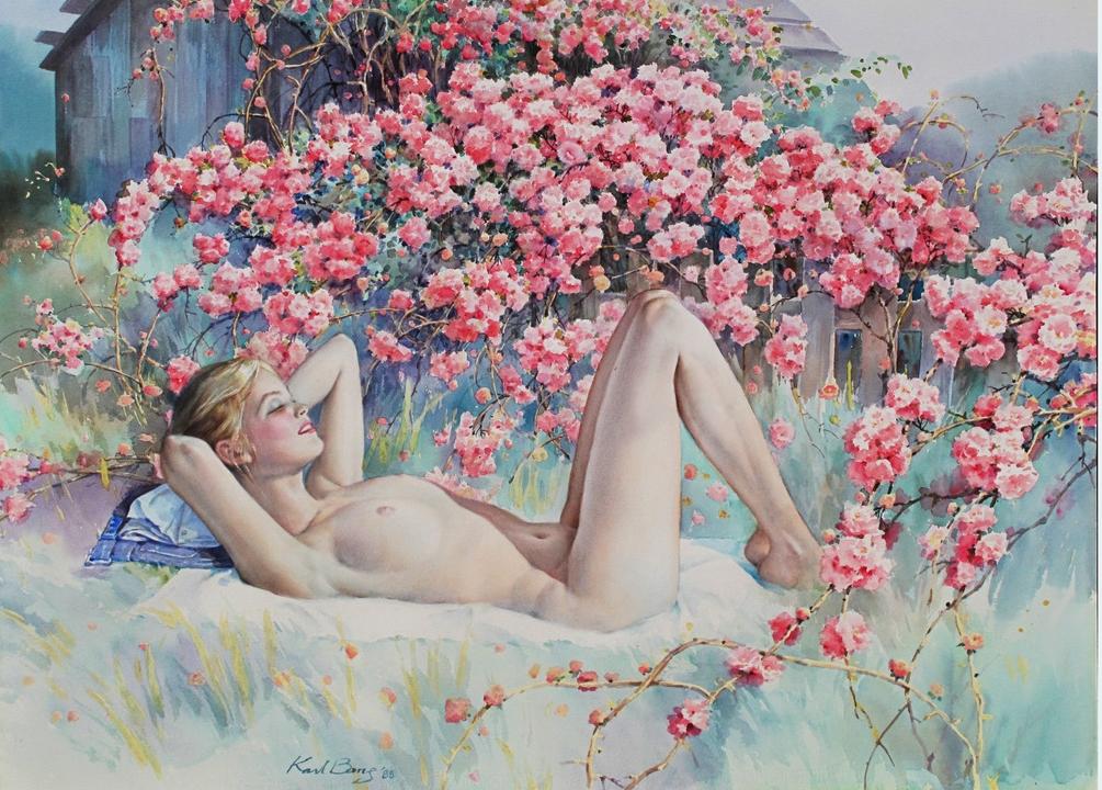 Karl Bang, 1935 Born Fantasy painter