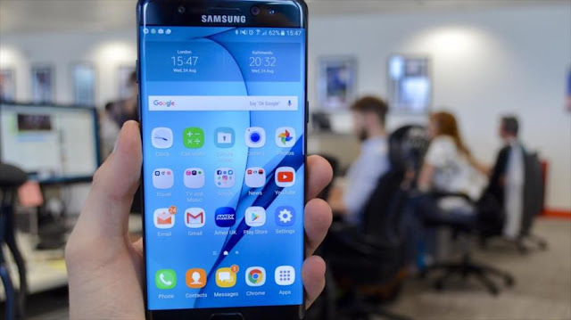 Samsung urge no usar Galaxy Note 7 porque se incendian