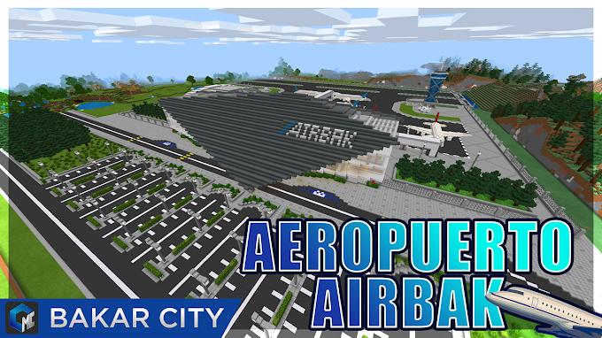 """Aeropuerto """"AIRBAK"""" (Mapa)"""