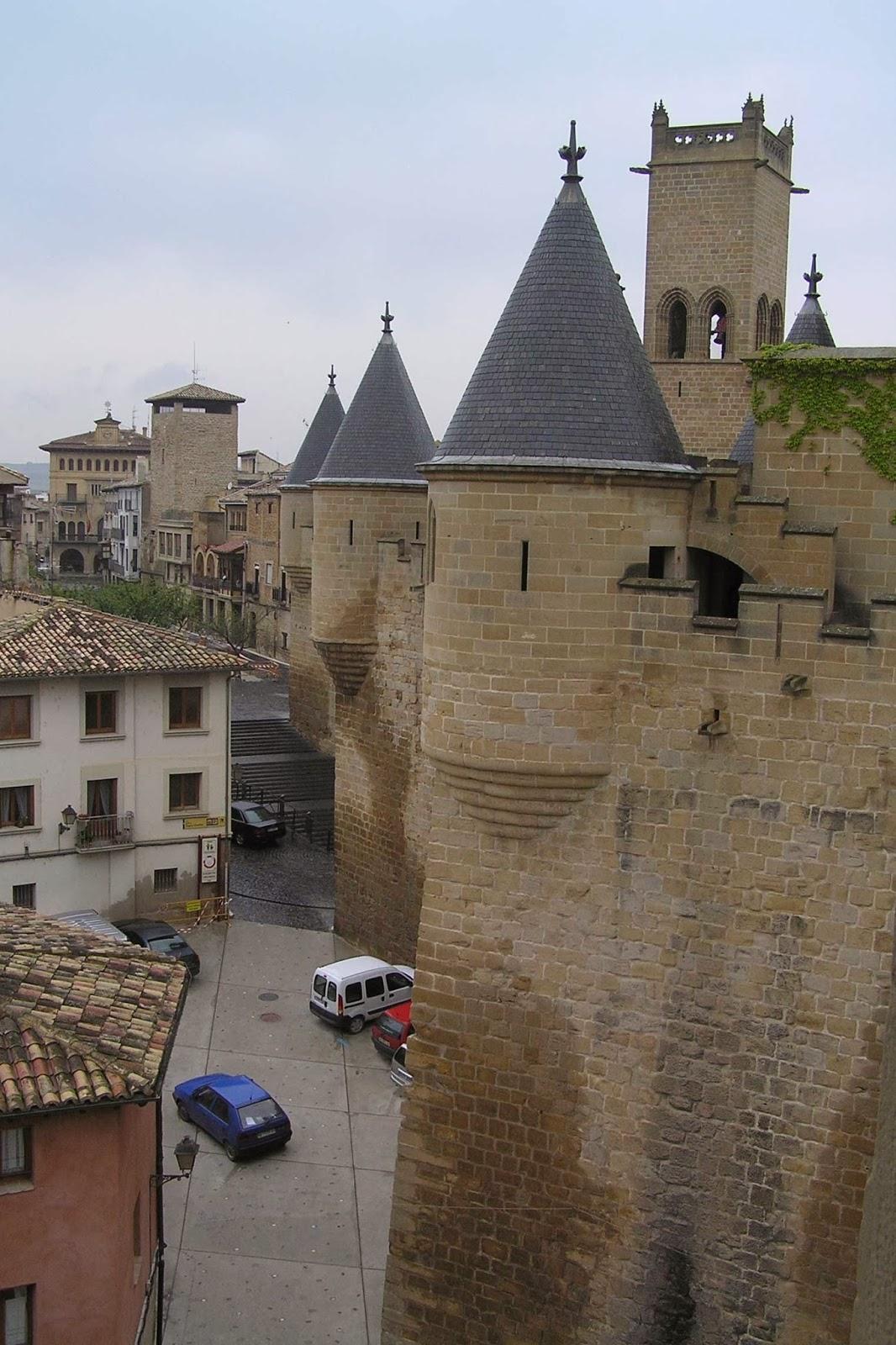 Castillo o Palacio de Olite.