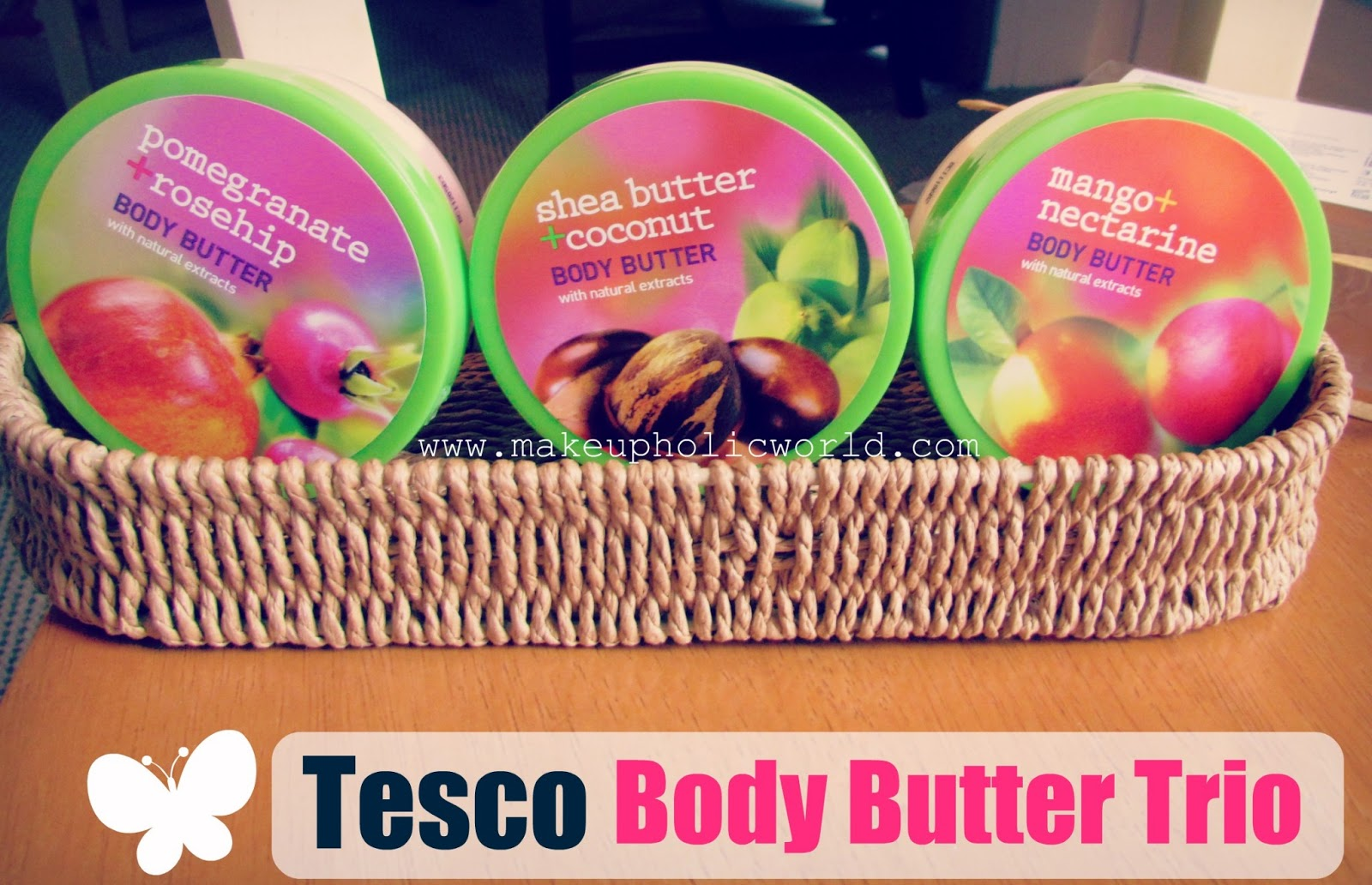 Tesco Extracts Body Butter Trio Makeupholic World