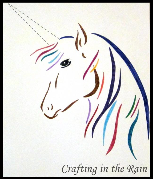 Free Printable Unicorn Horn Great Home Inteiror
