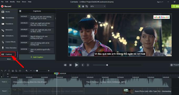 Hướng dẫn xuất bản video Camtasia 9 có kèm phụ đề