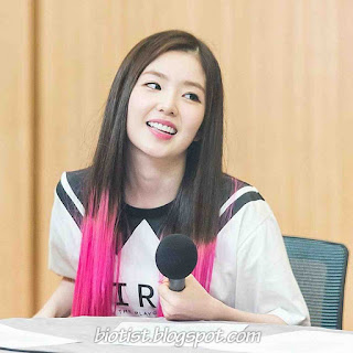 Red Velvet Irene Photos With Pink Hairstyle