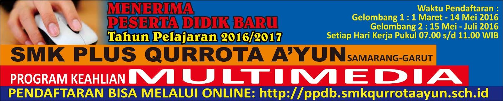 Banner Penerimaan Siswa Baru cdr