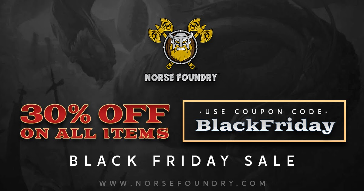 Tabletop Fix Norse Foundry New Sale Announcement Today's best foundry outdoors coupon code: tabletop fix blogger