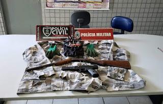 Policiais prendem em Guarabira jovem de 18 anos suspeito de roubos em Araçagi