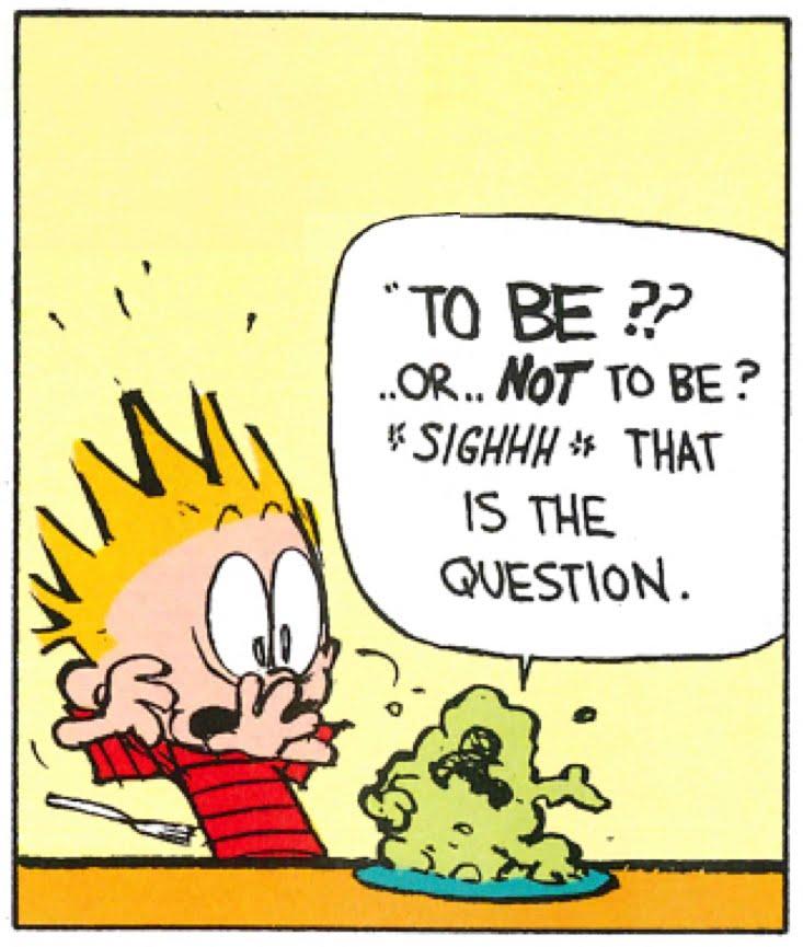 Bardfilm: Calvin, Hobbes, and Hamlet