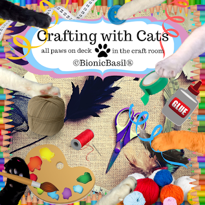 Crafting with Cats Banner ©BionicBasil®