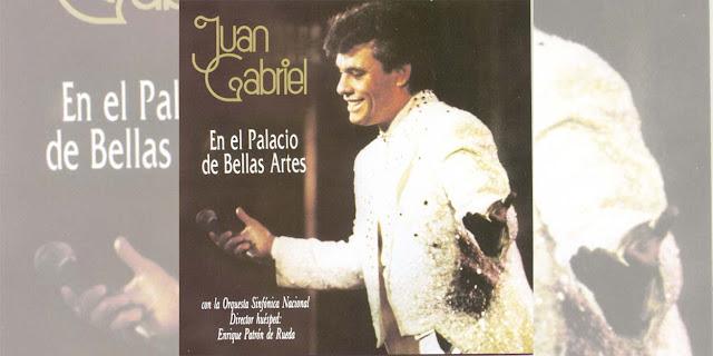 """30 años de un álbum que cambió la historia: Juan Gabriel """"En el Palacio de Bellas Artes"""""""