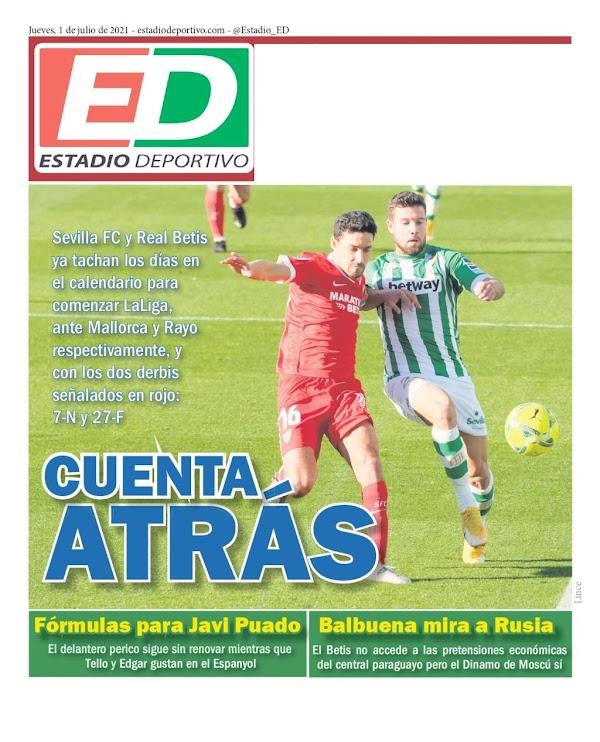 "Betis, Estadio Deportivo: ""Fórmulas para Javi Puado"""