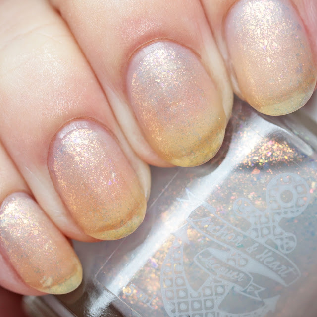 Anchor & Heart Lacquer Hazy Bit of Light