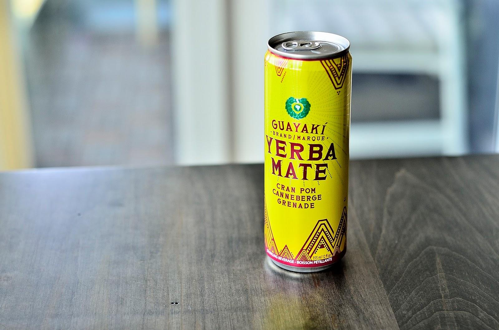 What I Drink At Work: Guayaki Yerba Mate Cran Pom