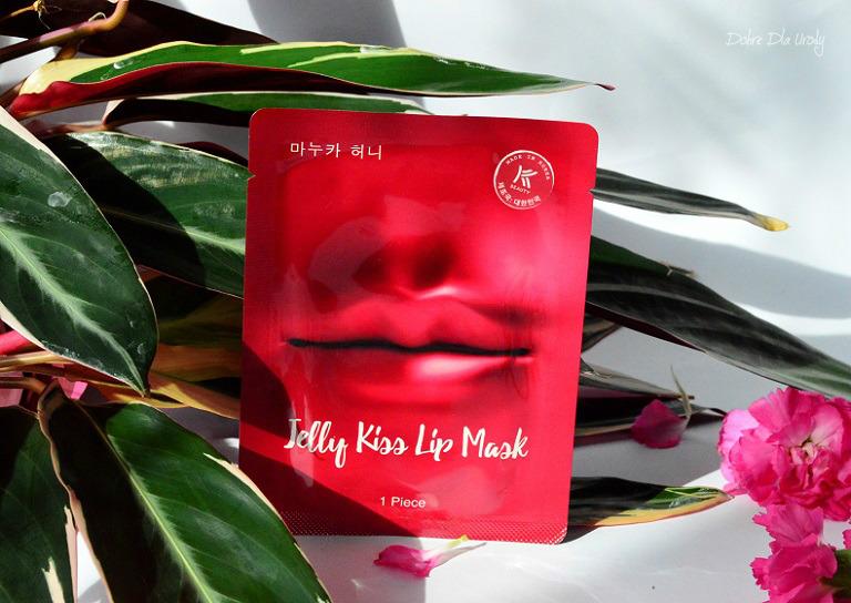 Jelly Kiss Lip Mask K-Beauty Avon Koreańska maseczka na usta recenzja