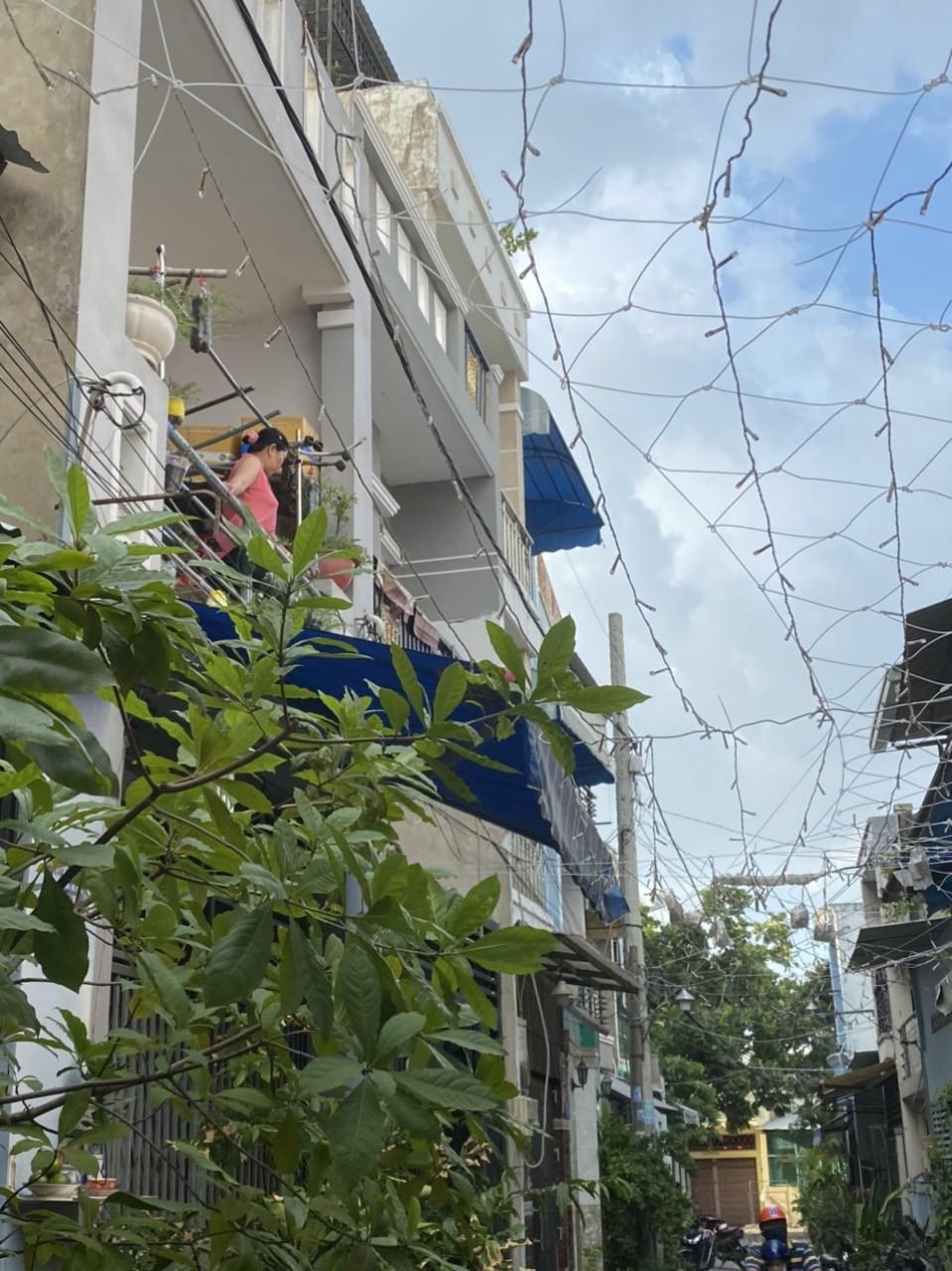 Bán nhà quận Bình Tân dưới 3 tỷ, hẻm 4m Đường số 16A, Bình Hưng Hòa A, quận Bình Tân