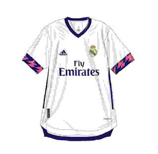 Berita Bocoran Jersey Real Madrid Musim 2020/2021