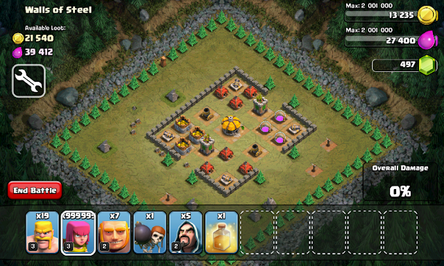 Cara Hack Game Clash of Clans