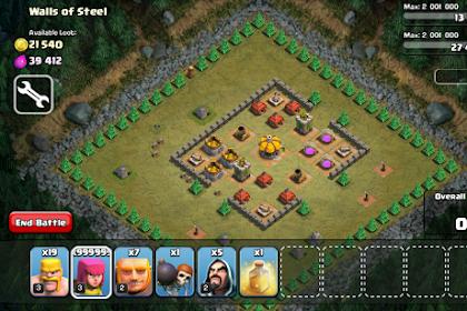 Cara Hack Game Clash of Clans