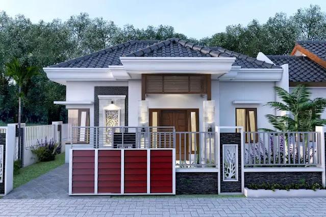 Desain Rumah Tipe 54