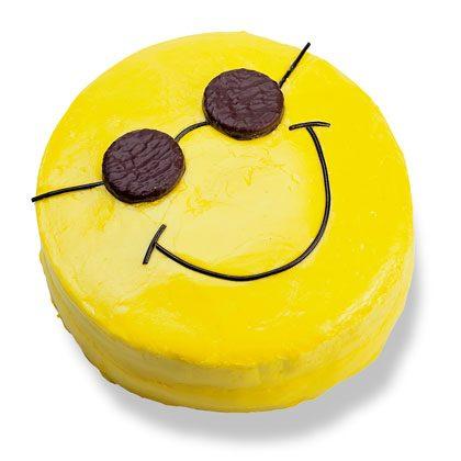 Smiley Face Cake Recipe