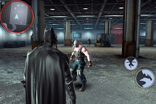 Game yang ternyata juga support di Naugat The Dark Knight Rises apk + obb