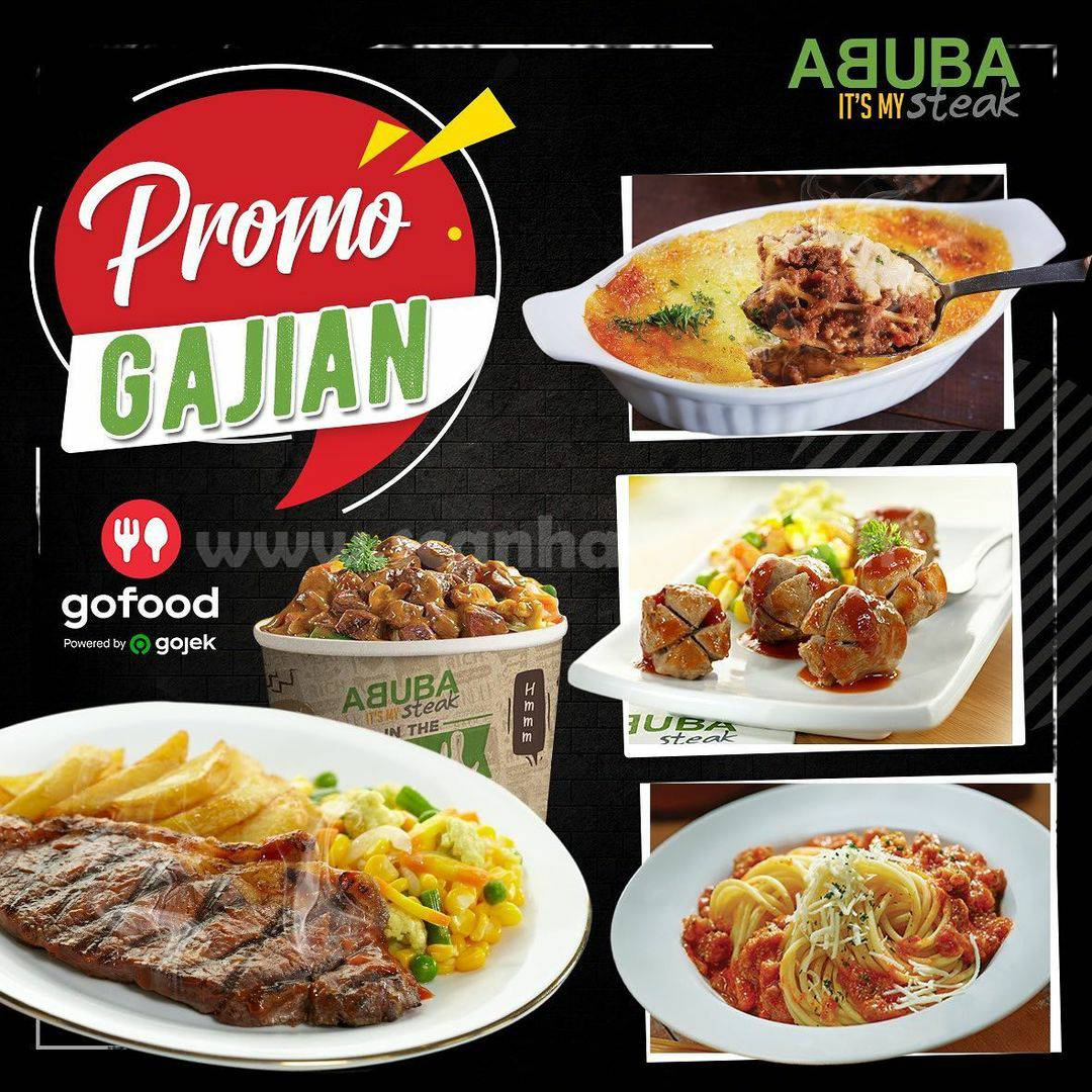 Abuba Steak Promo Gajian Paket Spesial via GOFOOD hingga 31 desember 2020