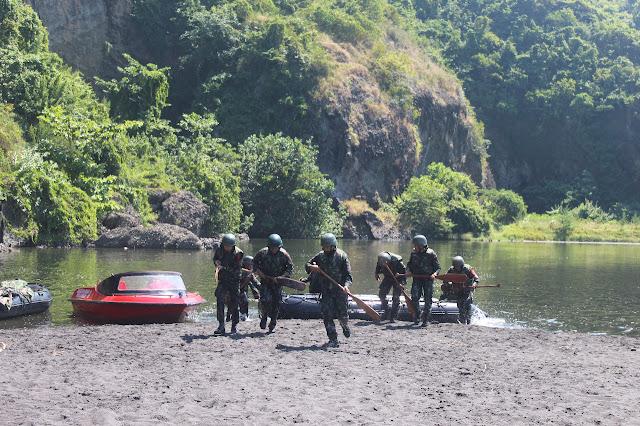 Danyonif Raider 515 Kostrad Tutup Latihan Pemeliharaan Raider