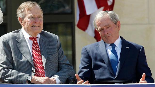 La Casa Blanca arremete contra los Bush por sus críticas contra Trump