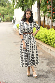 Swathi Reddy Looks super cute at London Babulu theatrical trailer launch ~  Exclusive 071.JPG