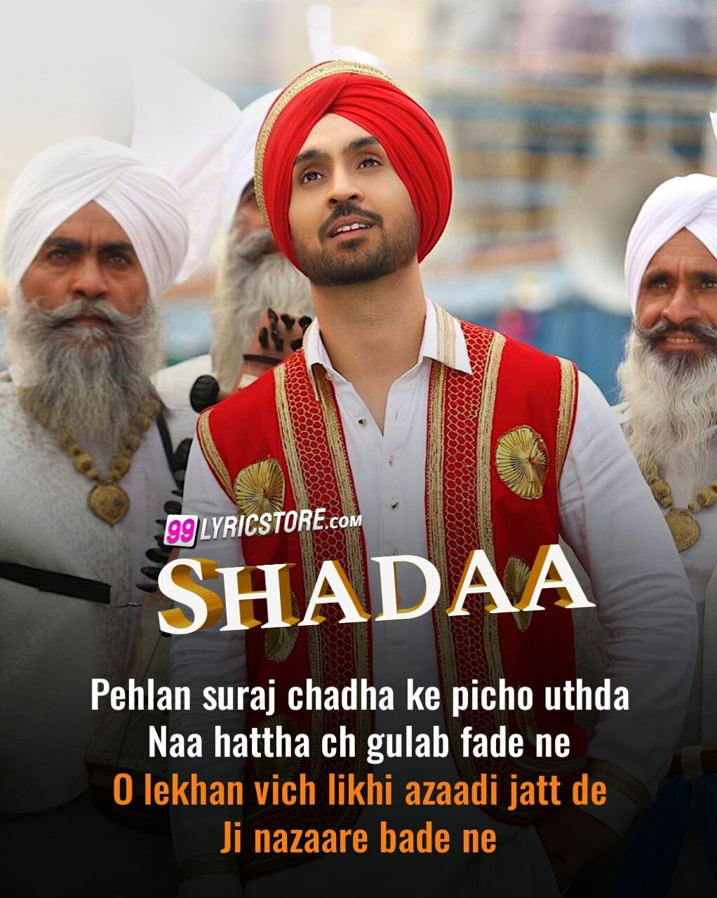 Shadaa Title Song Lyrics Sung by Diljit Dosanjh