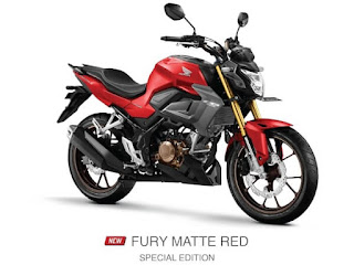 Verza CB150 Terbaru 2021 Fury Matte Red Special Edition